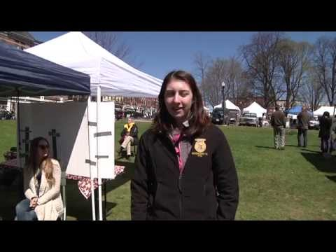 Monica talks about why she is a Sustainable Food and Farming major at UMass Amherst