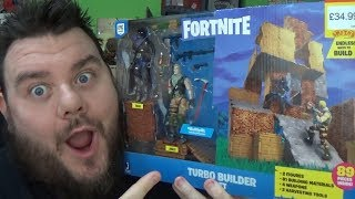 Fortnite Turbo Builder Figure Pack Unboxing Jazwares Fortnite Toy Review
