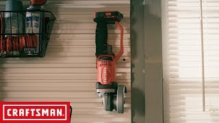 CRAFTSMAN V20* Cordless 4-1/2-in. Small Angle Grinder | Tool Overview thumbnail