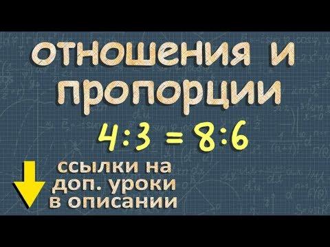 Проценты -  - Видеоурок по математике