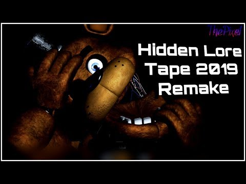 [SFM] Five Nights at Freddy's | Hidden Lore 2019 Remake