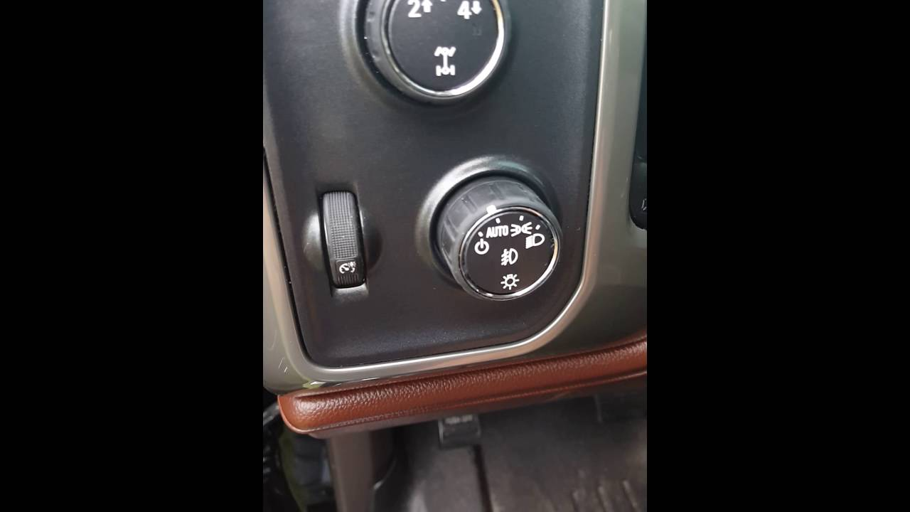 Review Of 2015 Silverado Hd Headlight Switch Mod Youtube