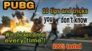 Pubg 10 tips and tricks you don