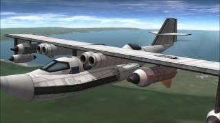 PBK Katarina Flying Boat - Kerbal Space Program 1.0.5