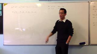 Synthetic Division: Longer Example