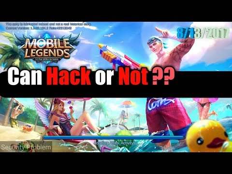 Mobile Legends Can Hack/Cheat/Mod ? August 13 2017 Bisa di Hack ? Watch this Video (No Edit)