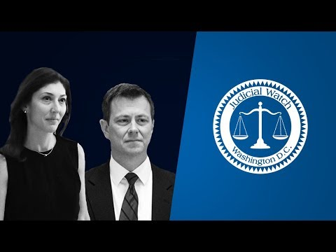 Inside Judicial Watch: NEW Strzok/Page Emails Reveal Couple's Hatred for FBI