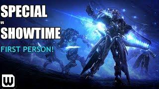Starcraft 2 WCS Playoffs: Showtime (Protoss) vs Special (Terran) - First Person View!
