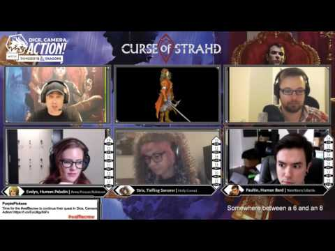 Episode 11 - Dice, Camera, Action with Dungeons & Dragons