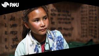 Världens Barn Porträtt Sirjana