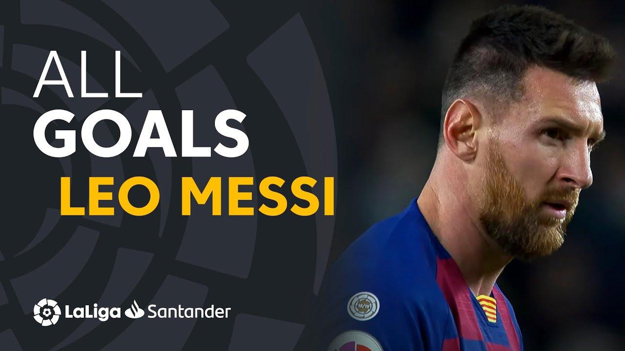 Download ALL GOALS Leo Messi LaLiga Santander