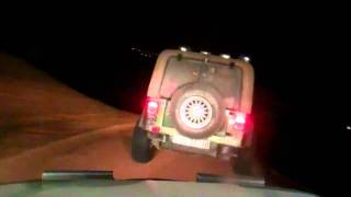 Dubai Desert fun -Night drive - 3rd June 2011 - TRAILER