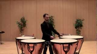 Elliott Carter - Eight Pieces for Four Timpani: Recitative