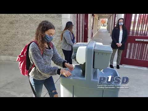Return to School Plan for Los Robles Elementary School
