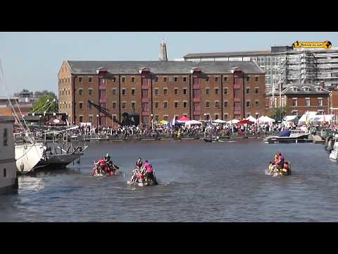 Gloucester Quays and Docks Hafenfest Harbour party