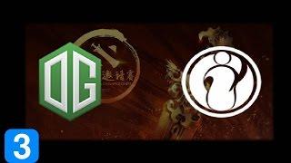 OG vs IG Game 3  DAC 2017 Highlights Dota 2