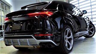 NEW - 2019 LAMBORGHINI URUS V8 4.0L - INTERIOR and EXTERIOR Full HD 60fps