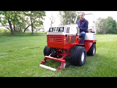 Simple Start  Operations Overview for the Ventrac ED240 Sod Cutter