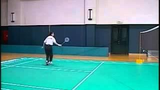 李玲蔚羽毛球2快速提高 2接殺球練習