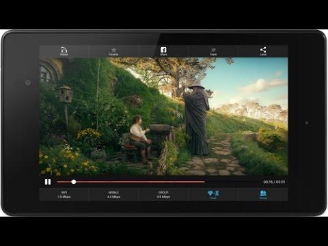 Потоковое видео через Bluetooth на Android