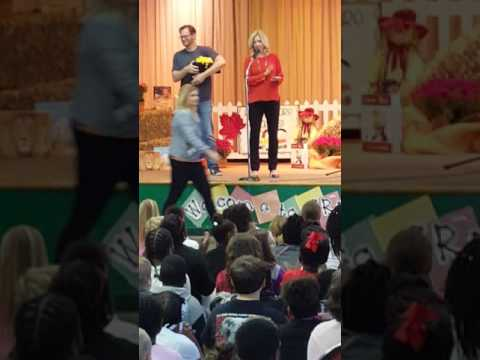 Dale Earnhardt Jr at Stemley Road Elementary School