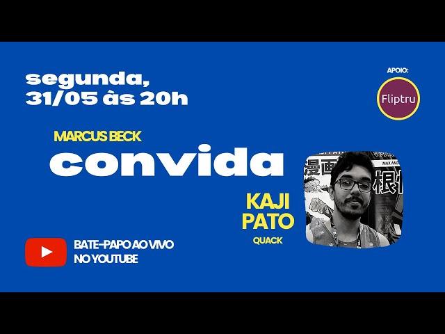 CONVIDA #07 - Kaji Pato (autor de Quack)