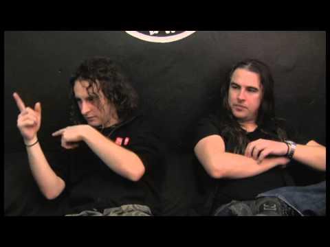 AIRBOURNE (Joel & Ryan) - interview @Linea Rock 2013 by Barbara Caserta