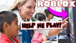 REACTING TO IF TEACHERS PLAYED ROBLOX! *PART 2*