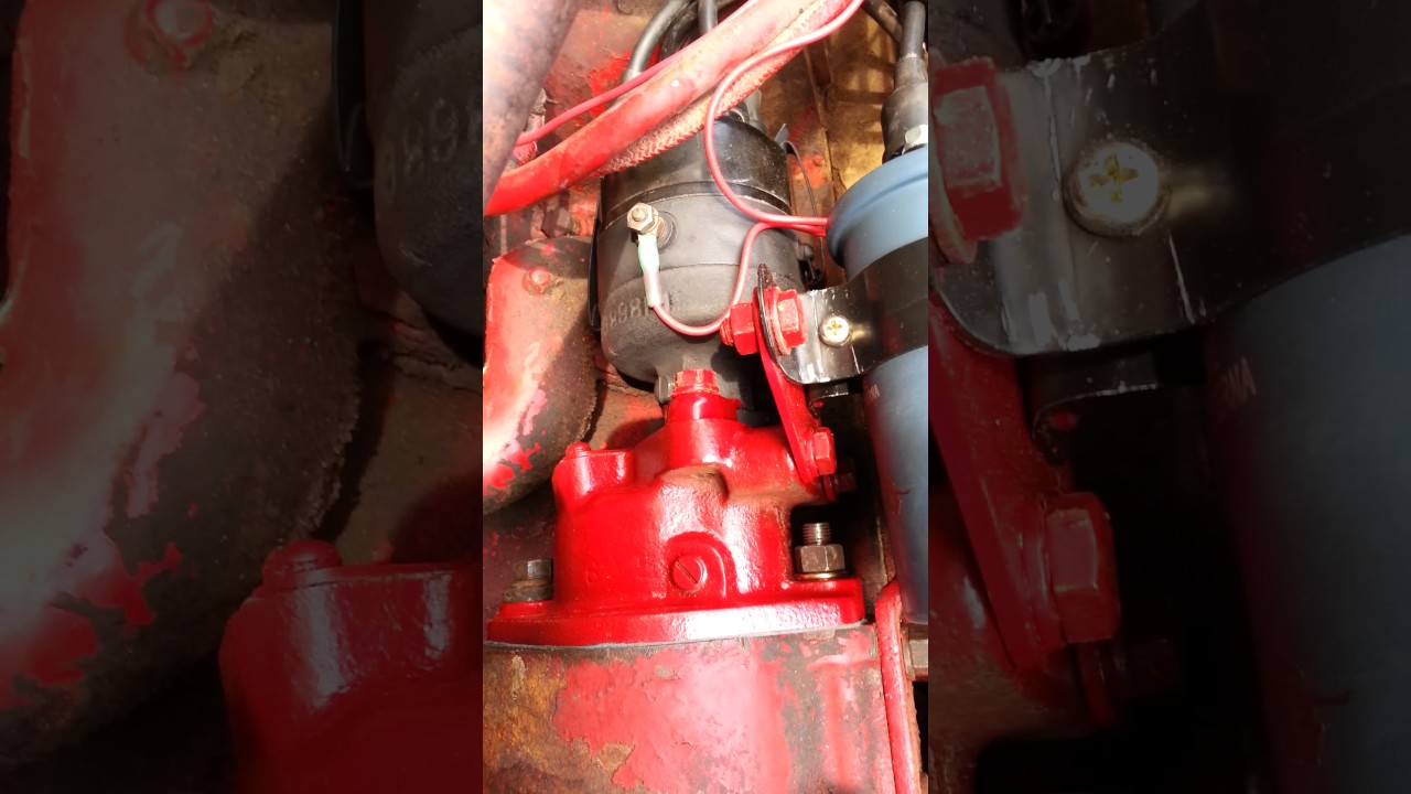 medium resolution of 1949 farmall cub distributor install