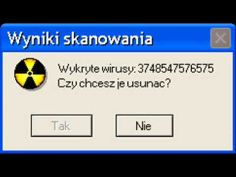 Śmieszne Komunikaty Windows 2