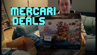 Mercari Deals Unboxing! Huge Wii U & PS2 Bundles! Super Smash Bros, Ape Escape 3 +