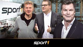 Der CHECK24 Doppelpass mit Max Eberl und Stefan Effenberg | SPORT1