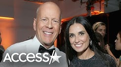 Demi Moore & Bruce Willis Dance In Matching Outfits