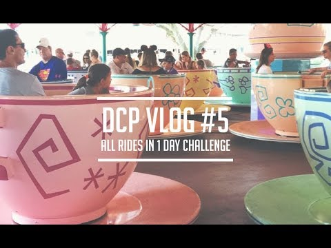 ALL RIDES IN ONE DAY CHALLENGE | DCP 2017