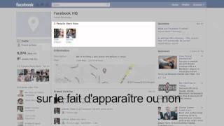 Contrôlez Vos Informations avec Facebook Lieux