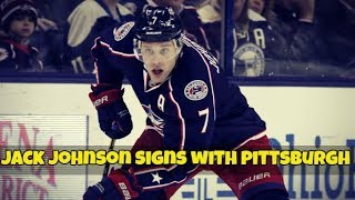 Jack Johnson signs with the Pittsburgh Penguins