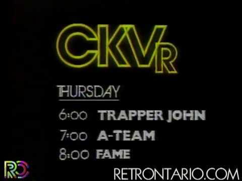 CKVR A-Team promo [Roger Ashby] (1983)