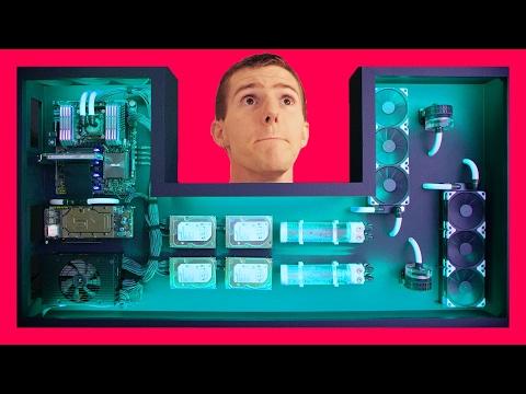 Ultimate DIY Desk PC FINAL INSTALLATION In Glorious 8K