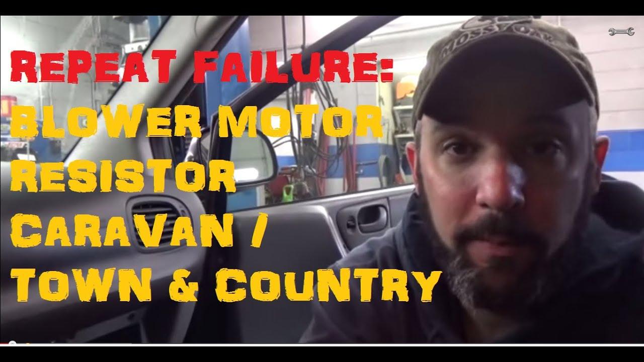 Blower Resistor Motor Failure Youtube 2005 Kia Sedona Wiring Diagram