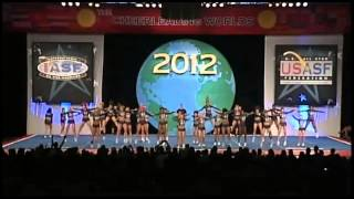 Cheer Athletics Panthers Senior Medium All Girl Finals 2012