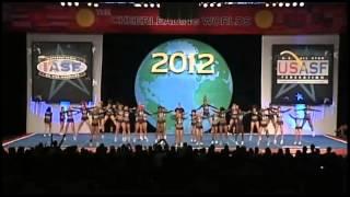 Cheer Athletics Panthers Senior Medium All Girl Finals 2012