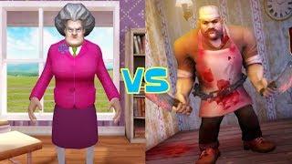 Scary Teacher 3D vs Scary Butcher 3D