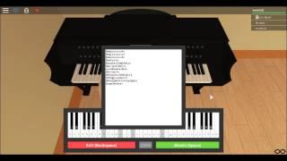 [Roblox Piano] Dreams