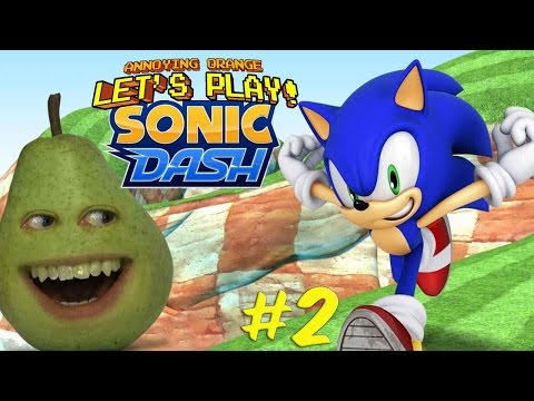 Pear Plays Sonic Dash #2: Skydancing!