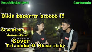 Menemukanmu Cover Tri Suaka ft Nissa rizky | Musisi Jogja Project | Alun2 jogja MP3