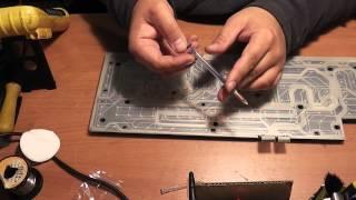 Ремонт клавиатуры ROCCAT ROC-12-804 - Обзор(Ремонт игровой клавиатуры ROCCAT ROC-12-804 после залития жижей - Обзор Ну вот и пригодился мой электропроводящий..., 2014-07-25T09:07:16.000Z)