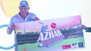 Mohammad Azharuddin Launches Azhar The Captain Mobile Cricket Game