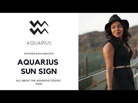 ALL ABOUT AQUARIUS ZODIAC SIGN