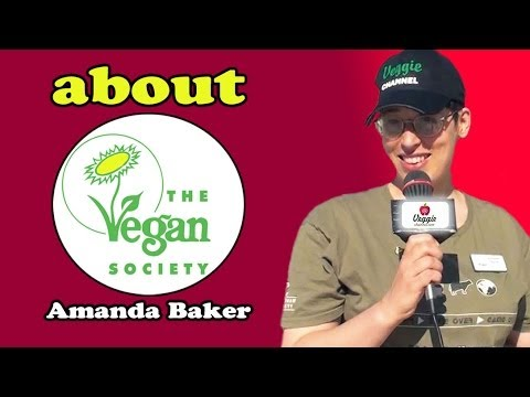About the Vegan Society - Amanda Baker