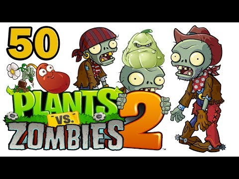 ч.50 Plants vs. Zombies 2 - Pirate Seas - Day 13